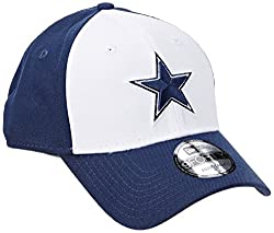 New Era Men's The League 9forty Dallas Cowboys Offical Team Colour Baseball Cap, Blue, One Size