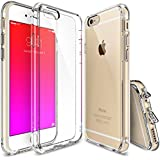 iPhone 6s Case, DN-Alive[Fusion] Crystal Clear PC Back TPU Bumper w/ Screen Protector [Drop Protection/Shock Absorption Technology] For Apple iPhone 6s / 6 - Crystal View