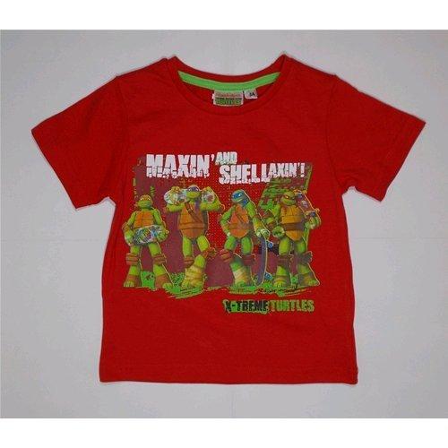 T-shirt t-shirt Tortues Ninja Disney d'été garçon 3/8 ans – oe1291 2-3 years rouge
