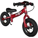 BIKESTAR® Premium 25.4cm (10 pulgadas) Bicicleta sin pedales para pequeños aventureros a partir de 2 años ★ Edición Sport ★ Rojo
