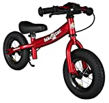 bike*star 25.4cm (10 Inch) Kids Child Learner Balance Running Bike - Sport - Colour Blue