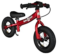 bike*star 25.4cm (10 Inch) Kids Child Learner Balance Running Bike - Sport - Colour Red