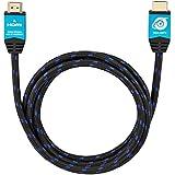Ultra HDTV Premium 4K HDMI Kabel 2 Meter / HDMI 2.0b, UHD bei vollen 60Hz (keine Ruckler) / HDR, 3D, ARC, Ethernet / perfekt für 4K TV's, Monitore, Konsolen und 4K-Blu-ray Player