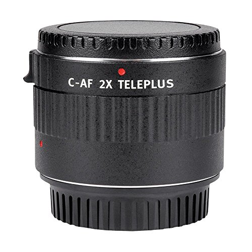 Viltrox c-af 2x Vergrößerung Telekonverter Extender Autofokus-Mount Objektiv für Canon EOS EF-Objektiv 5D II 7D 6D T5i T4i T3i 5D II 7D 1200D 760D 750D 1100D 5D III 60D 70D DSLR Kamera