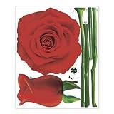 ScanPart Wandtatoo Motiv Rose