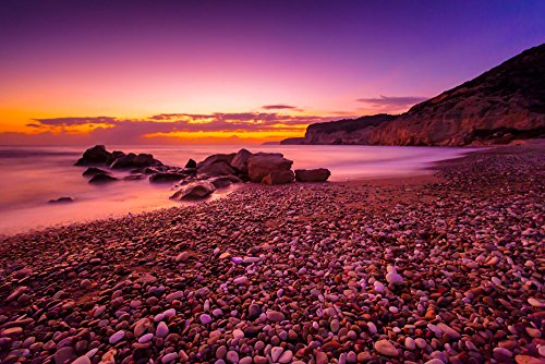 111217-72-crepusculo-en-kourion-playa-matted-fine-art-fotografia-hora-azul-paisaje-marino-mejor-para