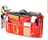 Domire Handtaschen-Organizer, groß, Reisetasche orange