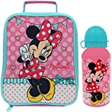 Disney Minnie Mouse Lunch Bag and Bottle Argos, Pink