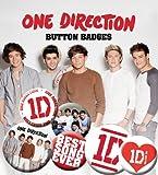 Die besten Song-Evers - GB eye Buttons-Set, Motiv One Direction - Best Bewertungen