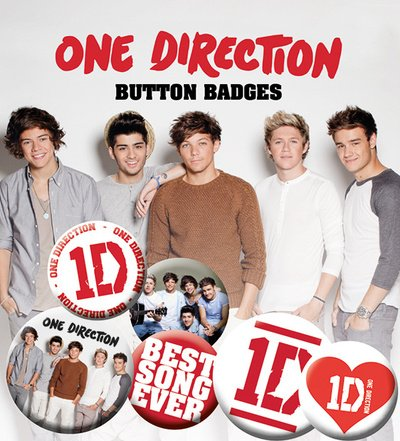 GB eye Buttons-Set, Motiv One Direction - Best Song Ever