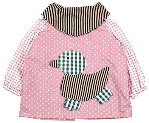 SUNNY JU - Babero Bebé Manga Larga Infantil Impermeable