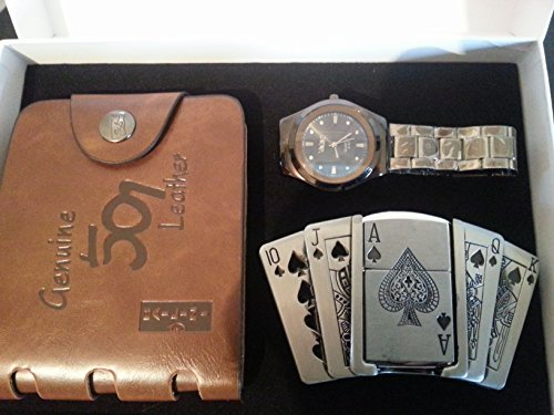 mens-three-piece-luxury-genuine-leather-wallet-stylish-wrist-watch-and-ace-of-spades-belt-buckle-lig