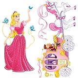 Beistle 52064bedruckt Prinzessin und Kutsche Requisiten, 5'10,2cm und 5' 11,4cm 2Stück in Paket