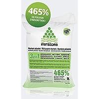 Instazorb Absorbente de derrames líquidos polivalente 100% natural saco 3 litros