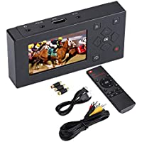 """Eboxer Portable AV Recorder Audio and Video Converter Video Capture Recording Player with 3"""" TFT Screen & Remote Control Support SD Card & Real-time Video Watching"""
