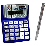 Jeu Calculatrice Et Stylo À Bille - Real Madrid (120/4)