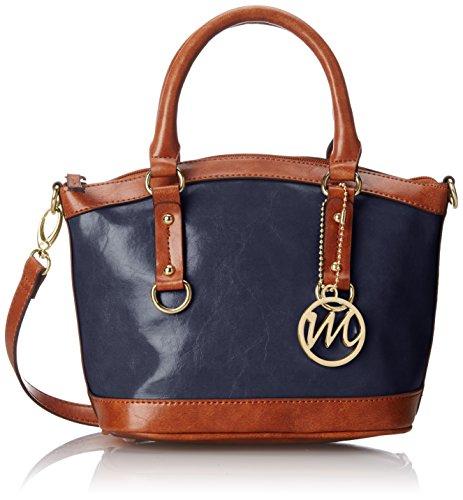 emilie-m-kiley-small-satchel-damen-blau-schultertaschen