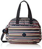 Kipling JULY BAG Tote da palestra, 45 cm, 21 liters, Multicolore (Multi Stripes)