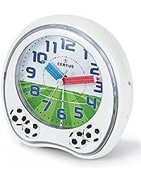 Certus Mod. 061031–Reloj despertador analógico para niños, con vibración y cambio de color