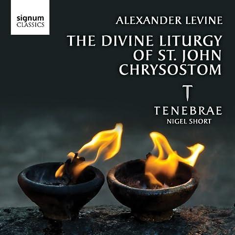 Alexander Levine: The Divine Liturgy of St John Chrysostom (Tenebrae)