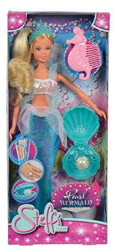 Simba- steffi love sirena con perla, multicolore, 802377