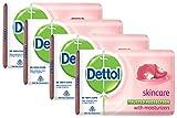 Dettol Skincare Soap, 75g (Pack of 4) Promo Pack