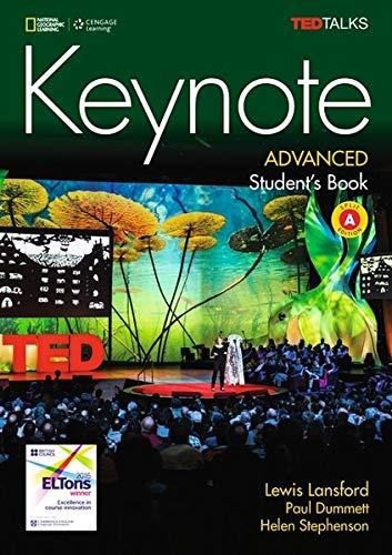 KEYNOTE BRE ADVANCED STUDENTS BOOK SPLIT A/DVD-ROM por Paul Dummett
