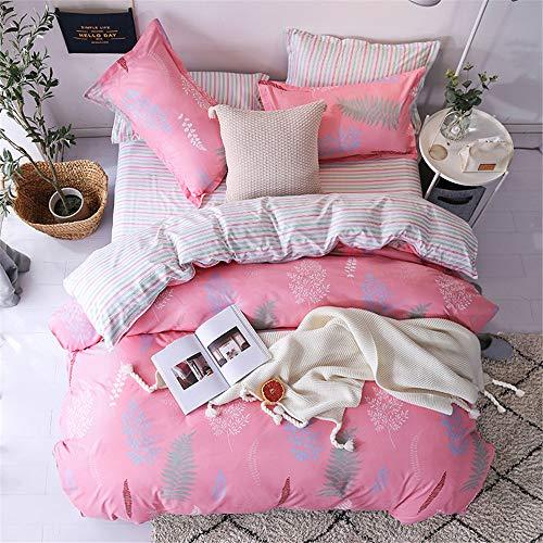 YUNSW Bettbezug Mode Tröster/Quilt/Decke Fall Twin Voll Königin König Student Schlafsaal Bettwäsche G 150x200 cm (Decke König Gelbe)