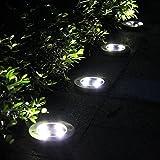 Yocitoy 4 LED Solar Powered Bodenleuchten Auß...Vergleich