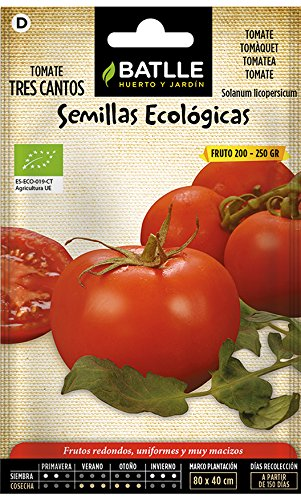 Semillas Ecológicas Hortícolas - Tomate Tres cantos- ECO - Batlle