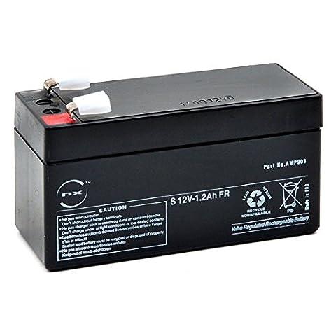 NX - Batterie plomb AGM S 12V-1.2Ah FR 12V 1.2Ah