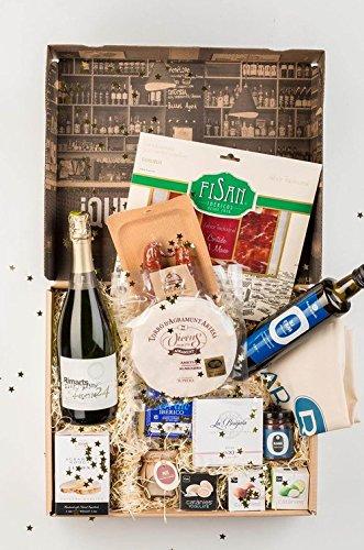 Festliche Tapas Box zum verschenken - Tolle Geschenkidee mit vielen, sehr geschmacksintensiven Tapas für tolle Abende