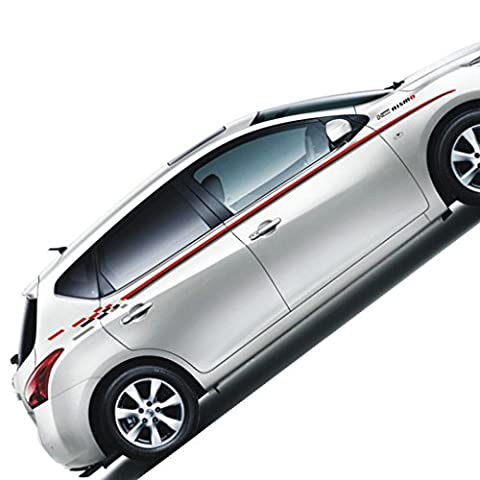 Kaizen Nismo Vinyl Sticker Side Skirt Decal Whole Body Graphic Decal For Nissan Nismo GTR 370Z Juke Altima And Other