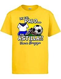 Diver Camisetas Camiseta De Tal Palo Tal Astilla Zaragoza fútbol