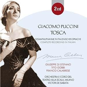 Puccini : Tosca, Complete Recording in Italian