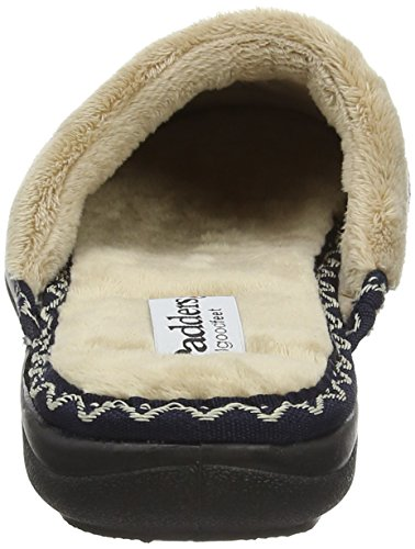 Padders Tabby, Chaussons femme Blue (24 Navy)