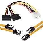 1007833 - Pack de 2 cables SAT...