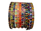 #2: Evolution Hair Band Multicolored Antique Print Hair Band, Head Band, for Women/Girls (Pack of 12)