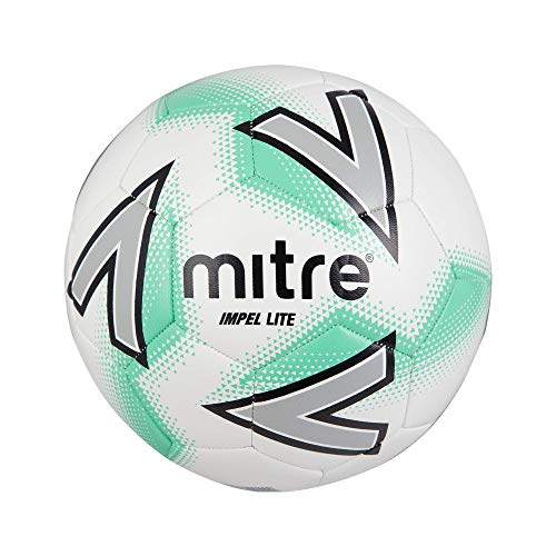 Mitre Impel Lite Football, weiß/grün, 4 -