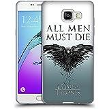 Officiel HBO Game Of Thrones Tous Les Hommes Art Clé Étui Coque en Gel molle pour Samsung Galaxy A5 (2016)