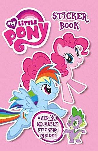 Little Pony Aufkleber Buch (My Little Pony-wiederverwendbare Aufkleber)