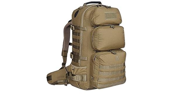 Rucksack tt paratrooper bag khaki: amazon.de: sport & freizeit