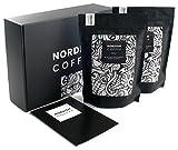 Nordish.Coffee Lively - 2 x 500g Kaffeebohnen in Geschenk Box - Premium Bohnenkaffee zum Verschenken - Geschenkidee für jeden Anlass - Ganze Bohnen