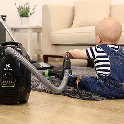 Electrolux ZSPGRN-TOY SilentPerformer Green - Aspiradora con bolsa AAA con una aspiradora de juguete de regalo
