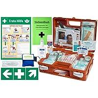 Erste-Hilfe-Koffer M5 QUICK für Betriebe DIN/EN 13157 - KOMPLETTPAKET- inkl. Notfallbeatmungshilfe + Sprühpflaster preisvergleich bei billige-tabletten.eu
