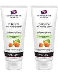 Neutrogena Norwegische Formel Fußcreme mit Nordic Berry – 2 x 100ml