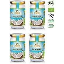 Dr.Goerg 100% Bio Kokosöl 1000ml 4erPack-kaltgepresst NEU