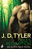 Front cover for the book Cole's Redemption by J.D. Tyler