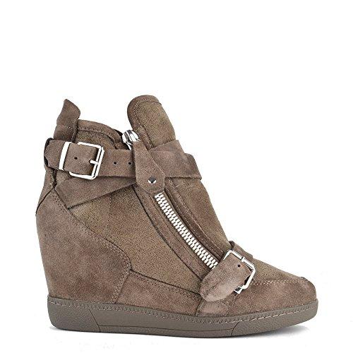Ash Chaussures Beluga Topo Baskets en Daim Femme Topo