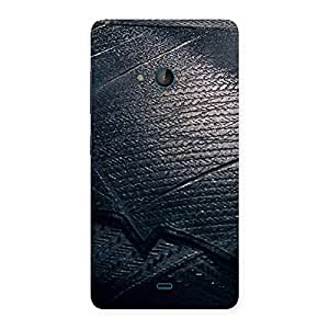 Impressive Knight Suit Black Print Back Case Cover for Lumia 540
